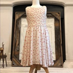 ant print summer dress // girls 10/12